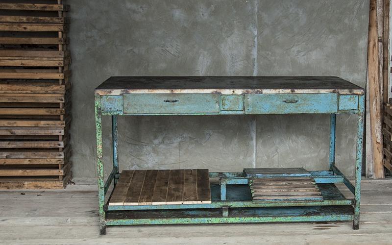 Tavoli Da Lavoro Vintage : Arredamento design recupero materiali ristrutturazioni con