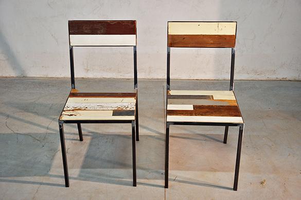 Interior design recupero arredamento design recupero for Sedie industrial design