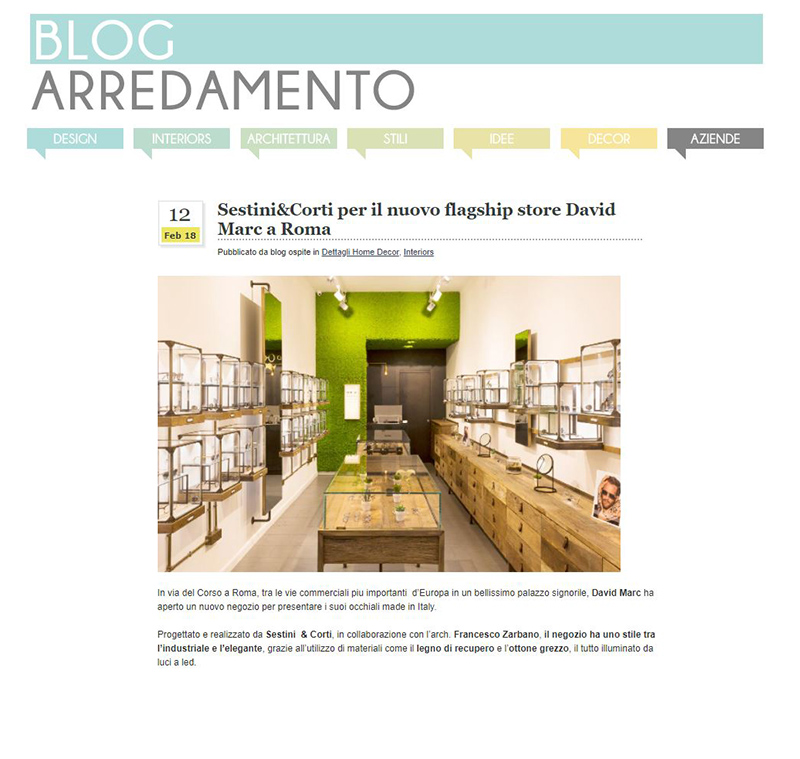 DAVID MARC in ARREDAMENTO BLOG