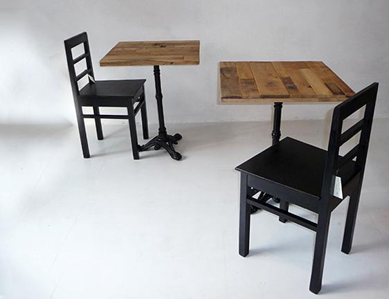 Tavolo bistrot design industriale sestini corti - Tavoli e sedie per ristoranti usati ...