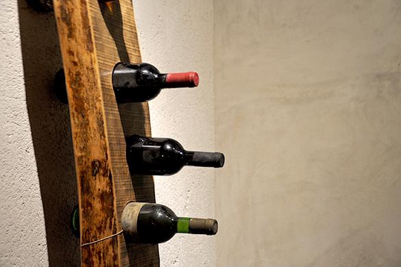 Porta bottiglie design industriale sestini corti for Oggetti particolari