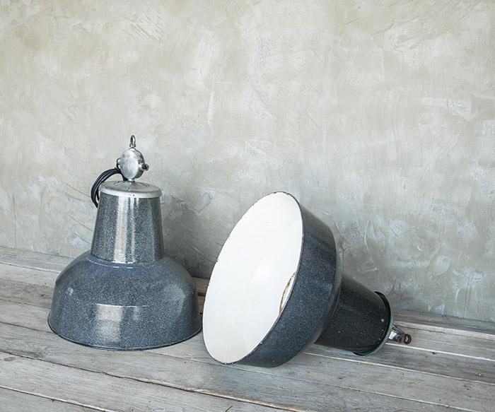 Lampade industriali 3 vintage illuminazione interior design recupero