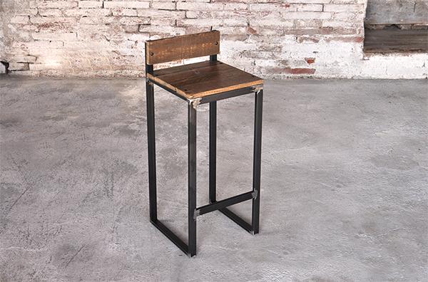 Sgabello in legno grezzo design casa creativa e mobili ispiratori