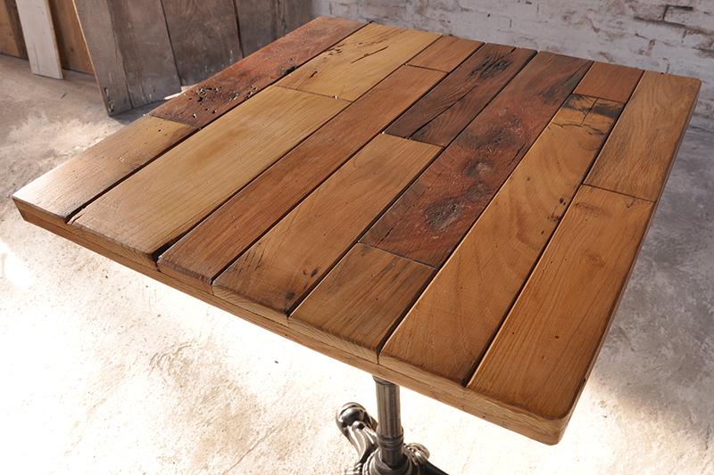 Tavolo bistrot botte prodotti tavoli bar ristoranti - Mobili con legno di recupero ...
