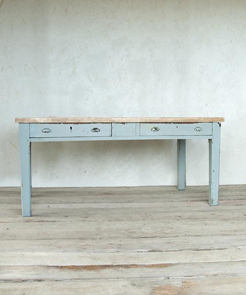 Vintage tavoli shop online interior design recupero - Tavolo grande legno ...