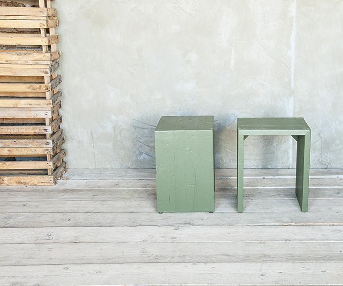Comodino ombre verde prodotti tavoli da fumo interior design recupero sestini e corti shop online - Tavoli da fumo in legno ...