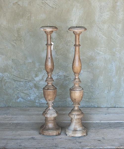 Interior design recupero oggetti realizzazioni - Portacandele da tavolo ...