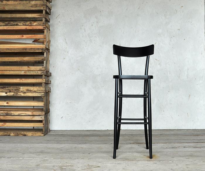Sgabello milano nero prodotti sgabelli interior design recupero