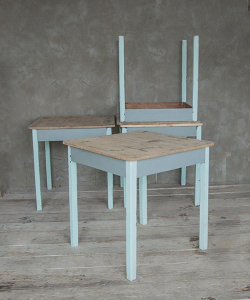 Vintage tavoli shop online interior design recupero - Tavoli colorati ...